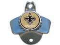 Siskiyou Gifts FWBO150 NFL Wall Bottle Opener- New Orleans Saints