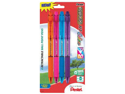 R.S.V.P. Colors Recycled Retractable Ballpoint Pen 4 Pk*12