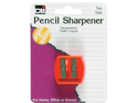 Pencil Sharpener 2-Hole 1 Pk*12