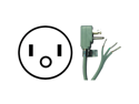 PETRA 15-0348 APPLIANCE POWER CORD (8 FT)