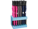 "All-Weather 24pc 48 "" Umbrellas in Countertop Display"