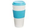 Wyndham House 24oz Tumbler with Light Blue Wrap and Lid