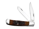 """4 1/8"""" Red Stag Bone Large Trapper"""