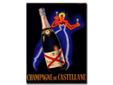 Champagne de Castellane by Robert Falcucci-Gallery Wrapped 1