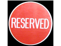 Reserved Button - Great for Gaming Tables
