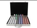 1000 Deadwood Casino 11.5 Gram Poker Chips in ALUM Case