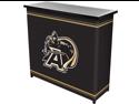Army Black KnightsT 2 Shelf Portable Bar w/ Case