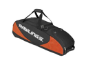 Bat Bag Wheeled Black Orange 4