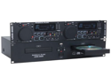 American Audio UCD-200 Dual CD/ MP3 Player Single Tray Rack CD Player