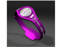 Active Energy Bracelet Wristband PINK With WHITE Lettering