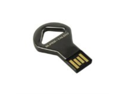 Super Talent CKB-COB 4 GB USB 2.0 Flash Drive STU4GCKBN (Nickel)