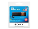 Sony Micro Vault Click 8 GB USB 2.0 Flash Drive with Virtual Expander USM8GL
