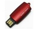 Super Talent CTS-COB Top Slider 4 GB USB 2.0 Flash Drive STU4GTSR (Red)