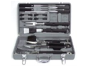 Mr. Bar-B-Q 18-Piece Tool Set with Plastic Case