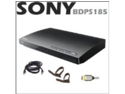 Sony BDPS185 Blu Ray Player + 14 Ft. RJ45 Patch Cable + HDMI AV Cable + Accessory Kit
