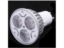 3 * 1W GU10 White LED Light Lamp Bulb Spotlight 85-265V