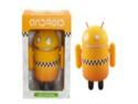 Android Big Box Edition Mini Collectible Figure, Taxi
