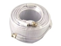 VONNIC Cable CB100W 100ft CCTV Siamese Cable w/Power Connectors White Retail