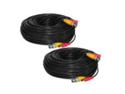 SVAT 65ft In-Wall, Fire-Rated UL/FT4 Certified Surveillance Camera Extension Cable (11008) -Bonus Pack of 2