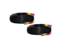 Defender 130ft In-Wall, Fire-Rated UL/FT4 Certified Extension Cable (21009) - 2 Cables Included