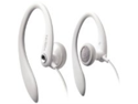 Philips Flexible Earhook Headphones SHS3201/28 (White) (replaces SHS3201/37)