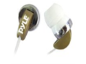 Pyle PIEH40T Ultra Slim Super Bass In-Ear Earbud Stereo Headphones for iPod/MP3/Any Media Player ( Tan)