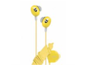 iLuv iEP311YEL The Bean: In-ear Stereo Earphone with Volume Control - Yellow