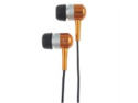 Metal In-Ear Headphones Earphones Earbud 3.5 MM Golden - New Year & Christmas Day Offer