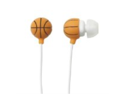 Hog Wild Earbuds Basketball