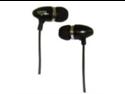 KINYO PE-166B - Aluminum Earphones - Black
