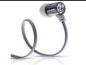 JBuds J4 Rugged Metal In-Ear Earbuds Style Headphones with Travel Case (Gun Metal)