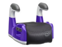 Evenflo AMP Performance DLX No Back Booster Car Seat - Grape
