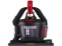 "Sanitaire SC5745A Commercial Quite Upright Bagless Vacuum Cleaner with Tools and 10 Amp Motor, 13"" Cleaning Path"