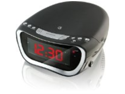 GPX CC312B AM/FM Clock Radio with Dual Alarms and Top Load CD Player - Black