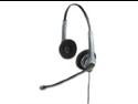 GN 2025NCNB Flex Over-the-Head Standard Telephone Headset w/Noise Canceling Mic