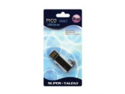 Super Talent Pico Mini-C 8GB USB 2.0 Water Resistant Flash Drive, Black (STU8GMCK)