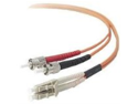 Belkin F2F202L0-02M 2-Meter Multimode Duplex ST-LC Fiber Patch Cable