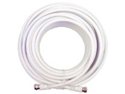 Wilson Electronics RG6 30 Ft. Low Loss Coax Extension Cable (White)