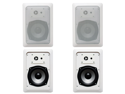 "4 Acoustic Audio CS-IW520 200W 5.25"" 2-Way Home Theater In-Wall/Ceiling Speakers"