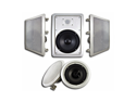 Acoustic Audio HT-85 1500 Watt 5.1CH In-Wall/Ceiling Home Theater Speaker System