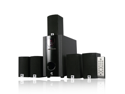 MA Audio MA5137 700 Watt 5.1 Home Theater Surround Sound Speaker System w/Sub
