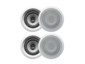 "4 Acoustic Audio CS-IC62 250W 6.5"" 2-Way Home Theater In-Wall/Ceiling Speakers"
