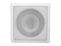 "Acoustic Audio I82S 300 Watt 8"" 2-Way Round Home Theater In-Wall/Ceiling Speaker"
