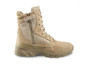 "Original Swat Chase 9"" Tactical Boots with Side Zipper -Tan- 15 Wide- 1312"
