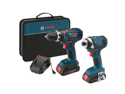 Factory-Reconditioned CLPK234-181-RT 18V Cordless Lithium-Ion 1/2 in. Drill Driver and Impact Driver Combo Kit