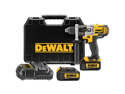 "DeWalt 20V Max Cordless Lithium-Ion 1/2"" 3-Speed Hammer Drill Kit with 2 Batteries DCD985M2"