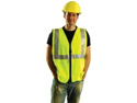 Occunomix X-Large Yellow Occulux Lightweight Polyester Class 2 Vest