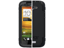 OtterBox Defender Case with Belt Clip for HTC One X Black Built-in Screen Protector 77-19686