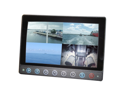 Iris 7 TFT Waterproof Screen w/Quad Switcher - 4 Composite Inputs