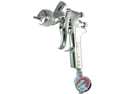 Cupless DeVILBISS GTI-620G Millennium HVLP SPRAY GUN with only a 1.4mm Tip Paint